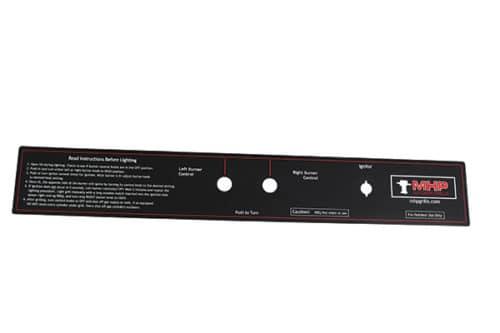 WNK/TJK & AMCW/AMCT Control Panels & Labels
