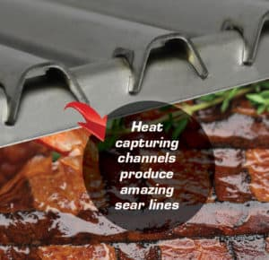 AMC Cooking Grids Close Up