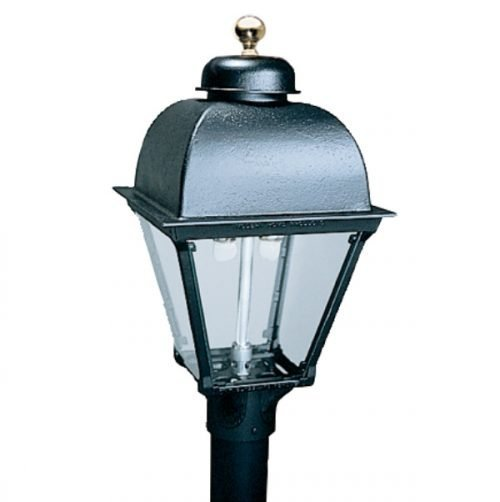 Everglow Gas Lamps | HJ3A Lamp Head (shown with Dual Inverted burner)