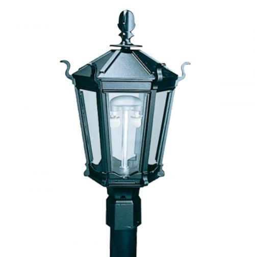 Everglow Gas Lamps | WK5A Lamp Head (shown with dual inverted burner)