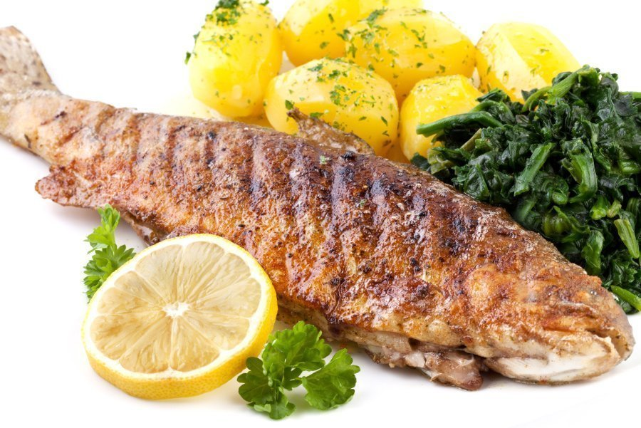 Grilled Trout With Lemon Butter Mhp Online Store