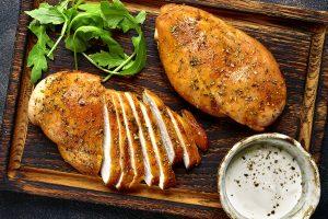 Sweet & Spicy Grilled Chicken