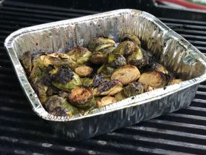 STEP 7 Grilled Balsamic Brussels Sprouts