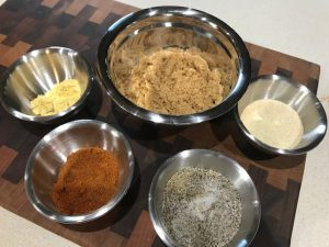 Chicken and pork Rub Ingredients
