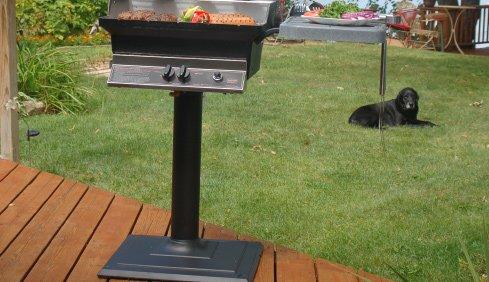 installing a deck patio mpb base